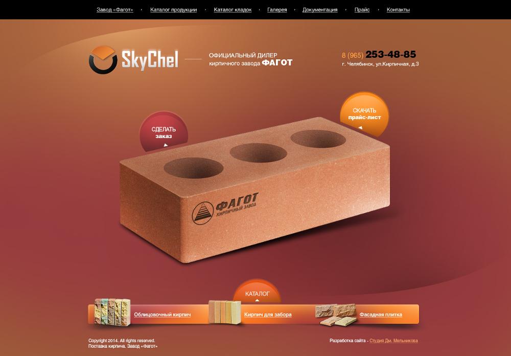 Создание сайта для SkyChel, г. Челябинск